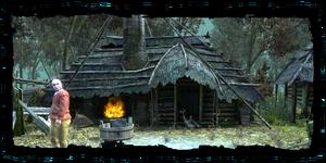 la cabane de Vaska