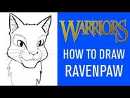 How To Draw Ravenpaw 🐾- With James L
