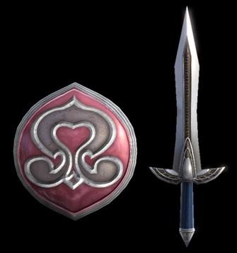 Digamma Sword & Nemea Shield