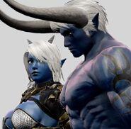 Demon Sanya and Lexa SC6