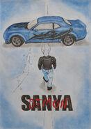 Demon Sanya and Dodge Challenger SRT Demon By Demon Sanya 2