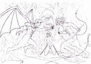 Demon Sanya, Sasha and Bloodian By Demon Sanya 1