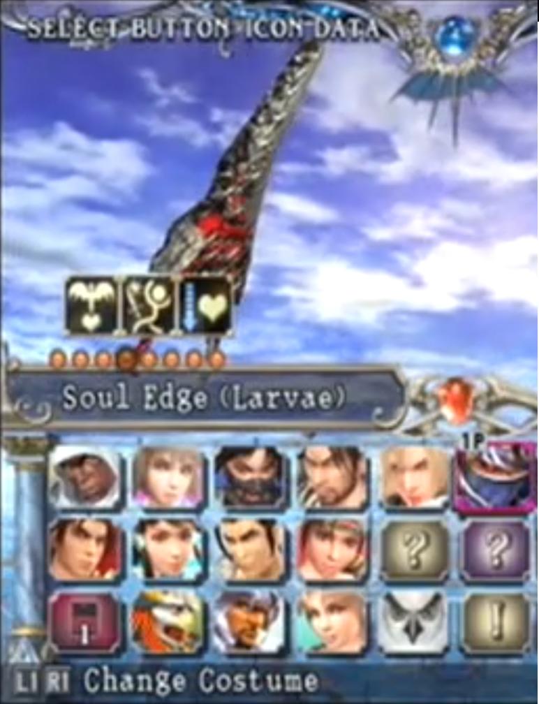 Soul Edge (Larvae)