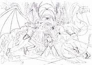 Demon Sanya, Sasha and Bloodian By Demon Sanya 2