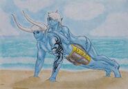 Demon Sanya + Lexa Fanart By Demon Sanya 2