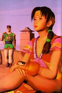 Seong Mi-na and Hwang 3D (Soul Edge Artbook)