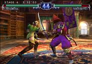 90963-soulcalibur-ii-gamecube-screenshot-cassandra-attacking-yoshimitsus