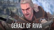 SOULCALIBUR VI - PS4 XB1 PC - Geralt of Rivia (Guest character announcement trailer)