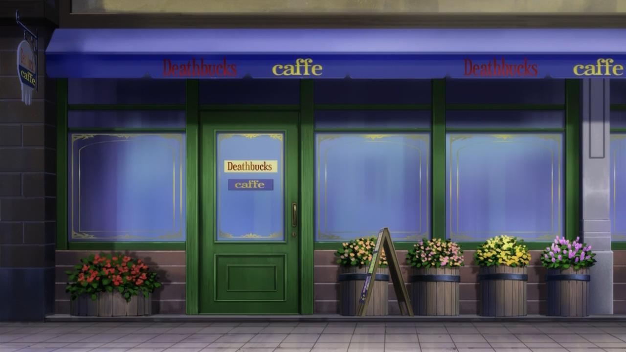 Death Backs Cafe Soul Eater Wiki Fandom