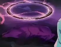 Purple Spirit Wolf