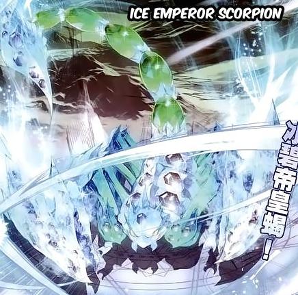 Ice Jade Emperor Scorpion
