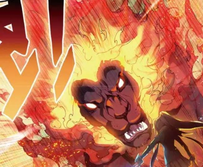Blazing Demon Lion