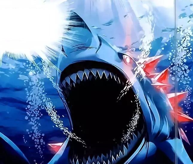 Demon Spirit Great White Shark
