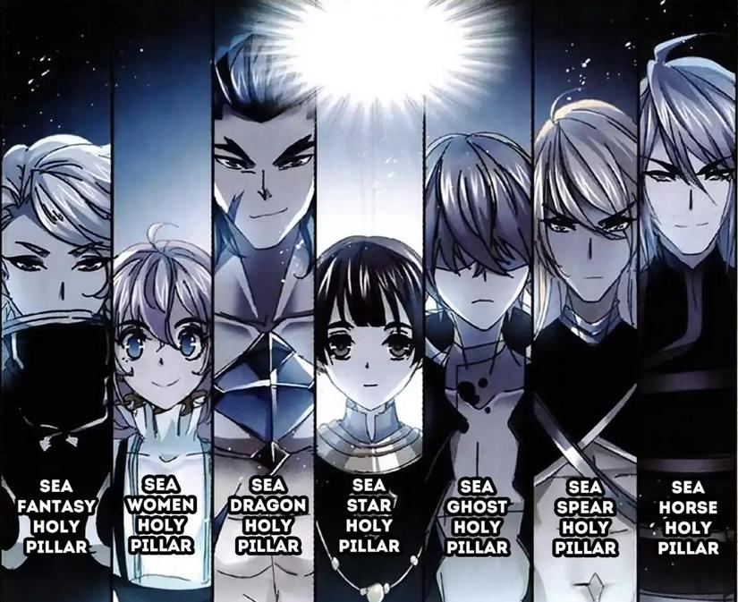 Seven Children of the Sea God