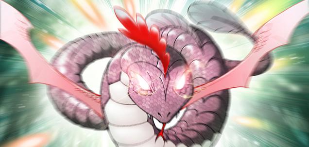 Phoenix Tail Crest Serpent