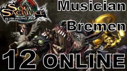 Soul Sacrifice DELTA DEMO Walkthrough - Part 12 - ONLINE - Musician Bremen!