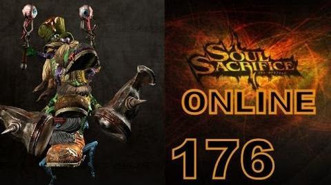 Let's Play Soul Sacrifice PS VITA - Part 176 - ONLINE - Hour Of Ash - Leprechauns