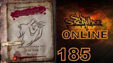 Let's Play Soul Sacrifice PS VITA - Part 185 - ONLINE - Hour Of Silver - Cat Sith Wraith