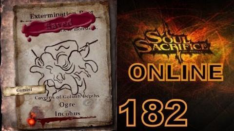 Let's Play Soul Sacrifice PS VITA - Part 182 - ONLINE - Hour Of Silver - Ogre Incubus