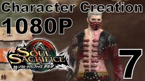 Soul Sacrifice DELTA DEMO Walkthrough - Part 7 - Male Character Creation Customization