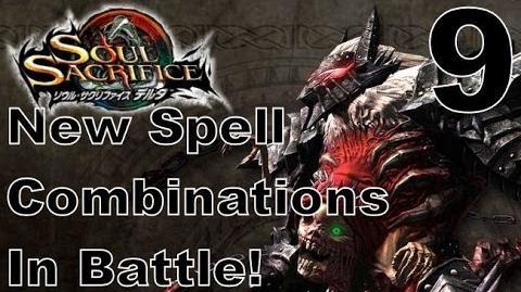 Soul Sacrifice DELTA DEMO Walkthrough - Part 9 - ONLINE - New Spell Combinations In Battle!
