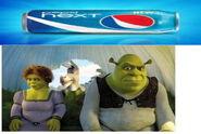 Pepsi next shrek commercial
