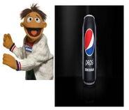 Pepsi zero sugar muppet commercial