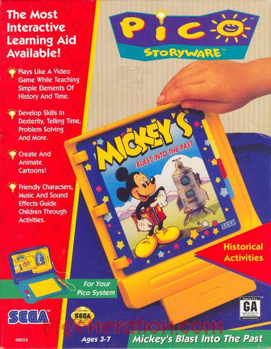 Mickey's Blast Into the Past (Video Game)