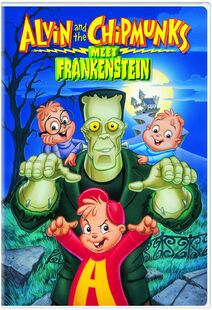 Alvin And The Chipmunks Meet Frankenstein DVD Cover.jpg