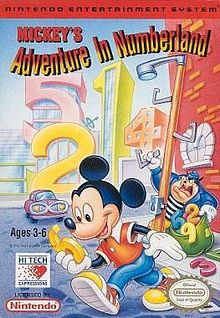 Mickey's Adventures in Numberland (1994) (Video Game)