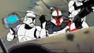 Star Wars Clone Wars CHAPTER 3 Sound Ideas, RICOCHET - SLICK RICCO 02 or Sound Ideas, RICOCHET - THIN RICCO 01 (very low-pitched)