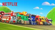 Mighty Express Theme Song - All Aboard! 🚂 Netflix Jr