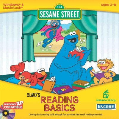 Elmo's Reading Basics (1998) (PC Game)