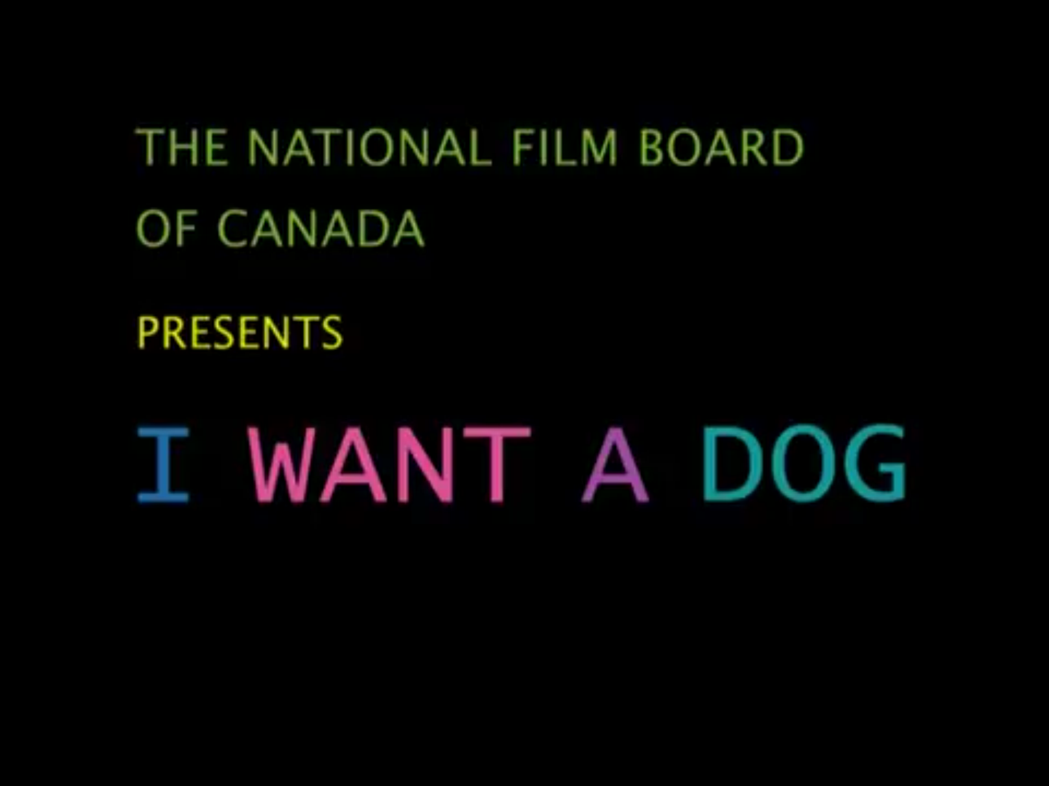 I Want A Dog (2003)