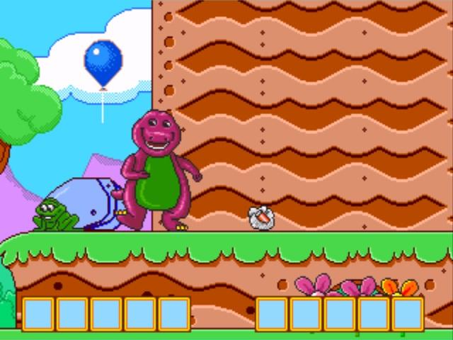 Barney's Hide & Seek Game
