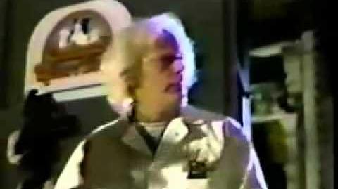 Doc Brown Visits Universal Studios Florida (1990)