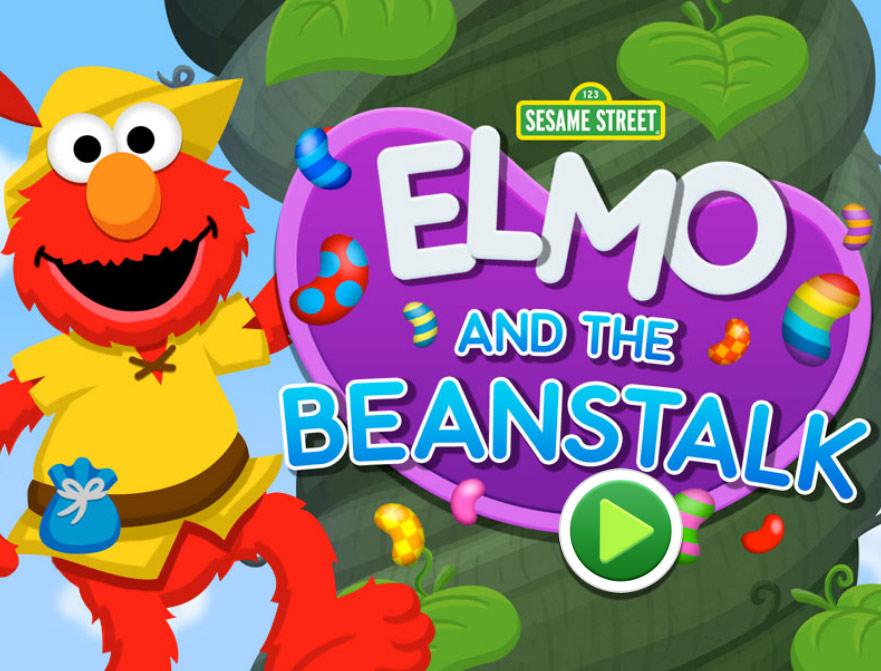 Sesame Street: Elmo and the Beanstalk (Online Games)