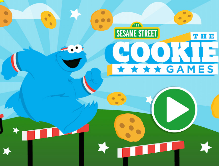 Sesame Street: The Cookie Games (Online Games)