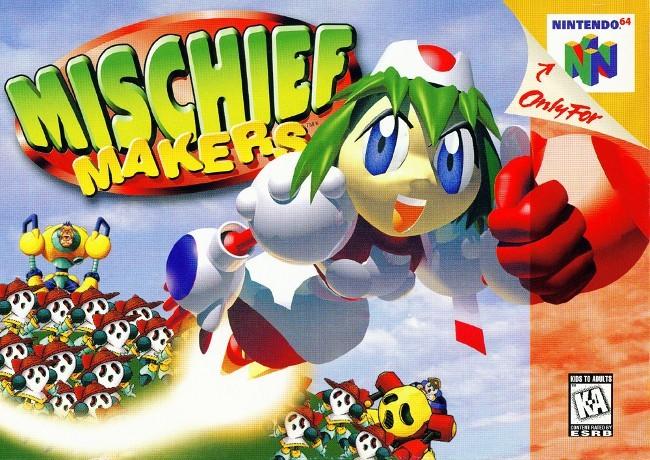 Mischief Makers (Video Games)