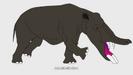 100 Prehistoric Beasts Hollywoodedge, Elephant Single Trum AT043404