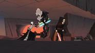 Star Wars Clone Wars Chapter 7 SKYWALKER, SCI-FI GUN - TIE FIGHTER GUN (hissing sound only)