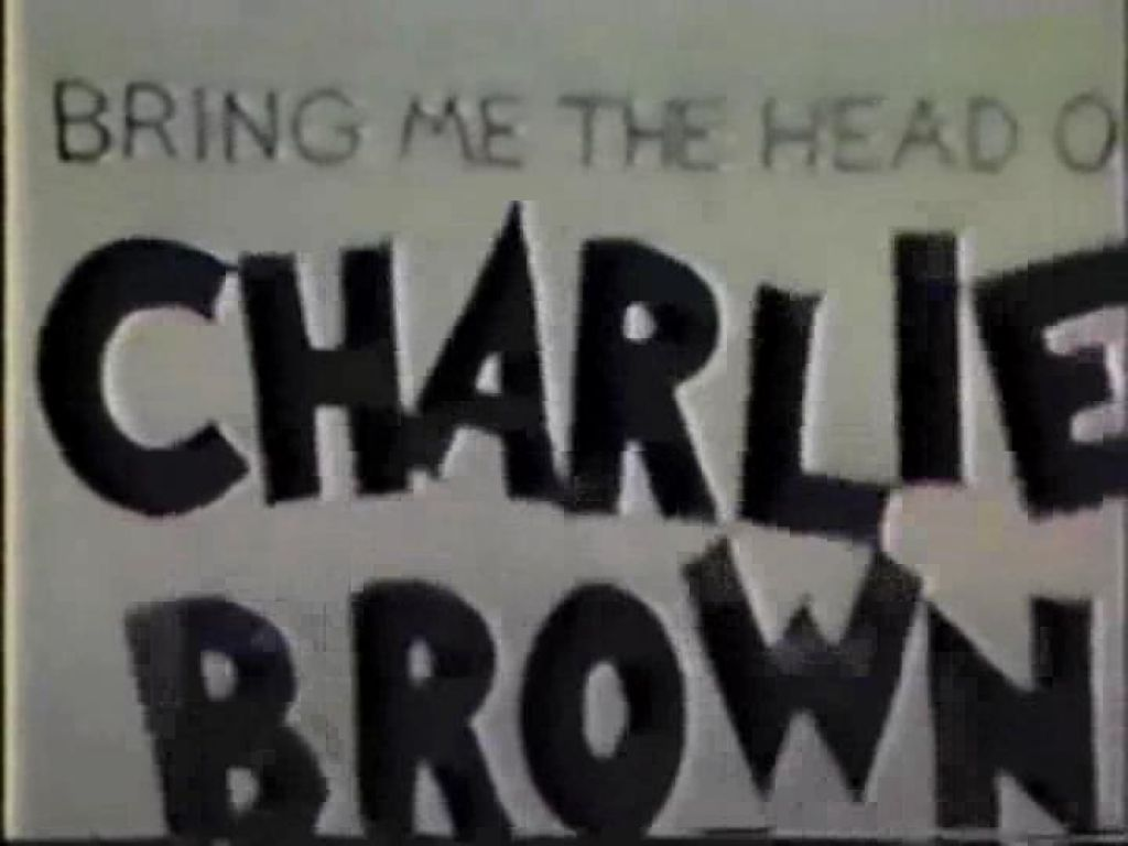 Bring Me The Head of Charlie Brown (1986) (Shorts)