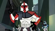 Star Wars Clone Wars CHAPTER 3 SKYWALKER, EXPLOSION - TANK FIRE