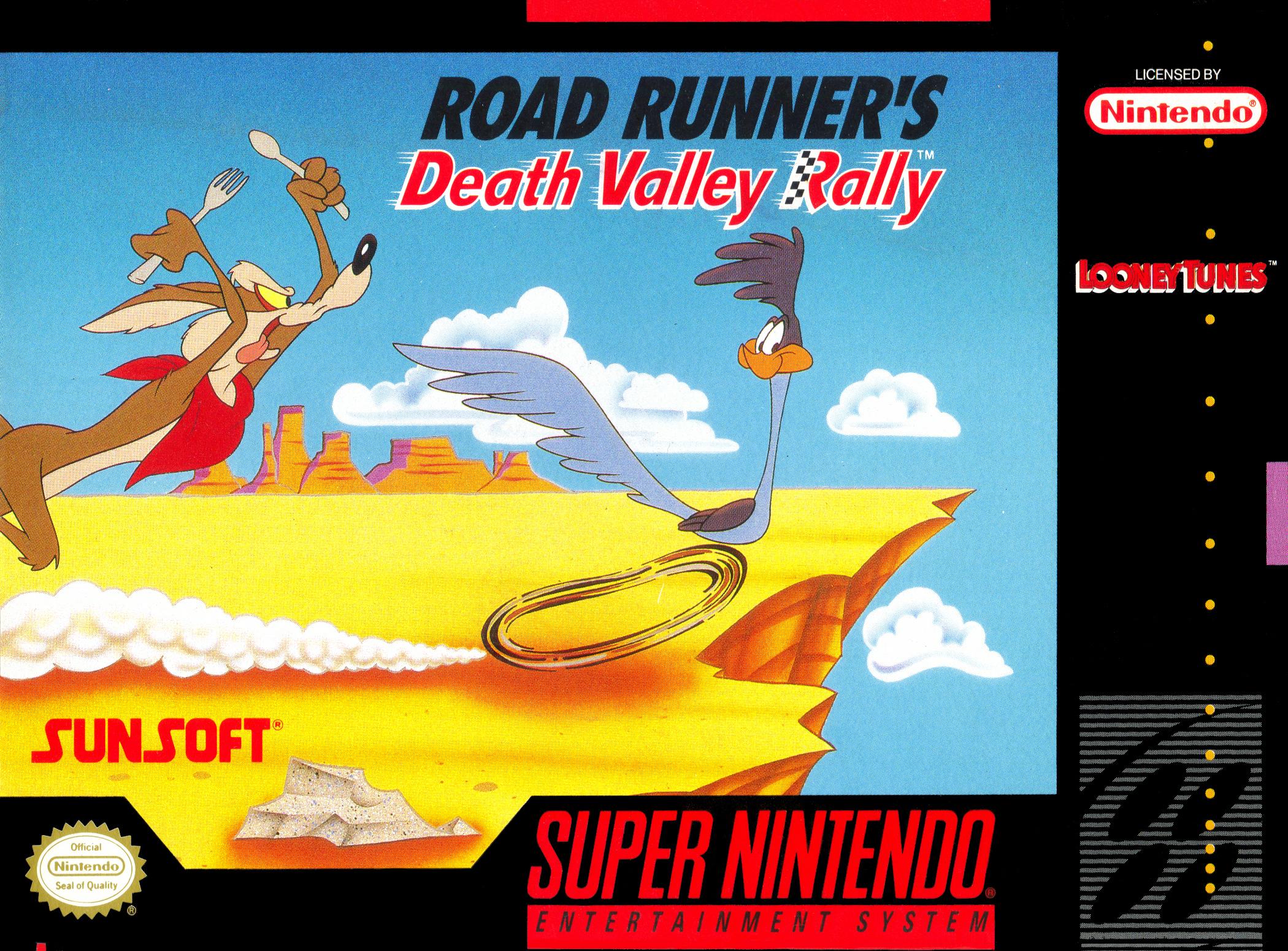 Road Runner's Death Valley Rally (SNES)