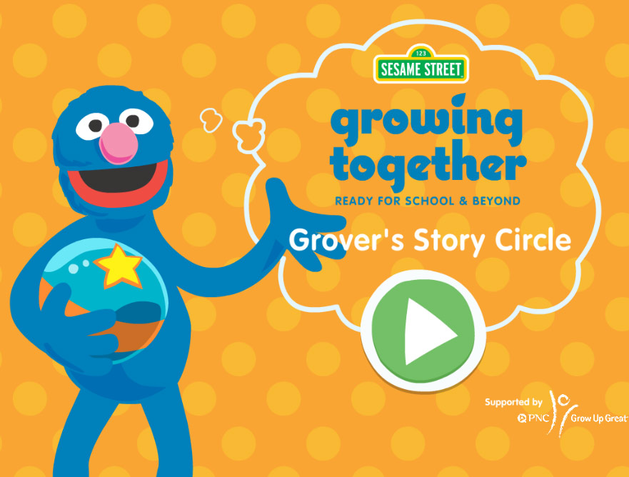 Sesame Street: Grover's Story Circle (Online Games)