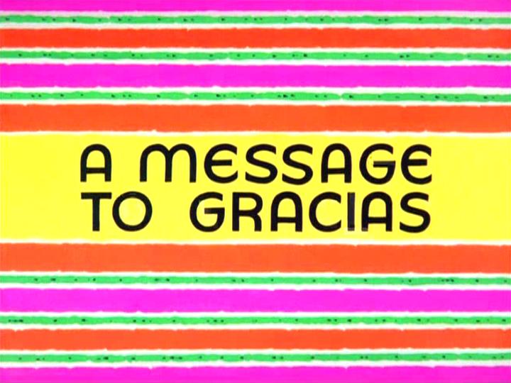A Message to Gracias