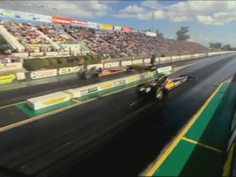 Sound Ideas, AUTO, RACE, DRAGSTER - TIRE BURN OUT