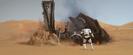 Star Wars - Episode VII - The Force Awakens (2015) SKYWALKER ROARING HORSE WHINNY