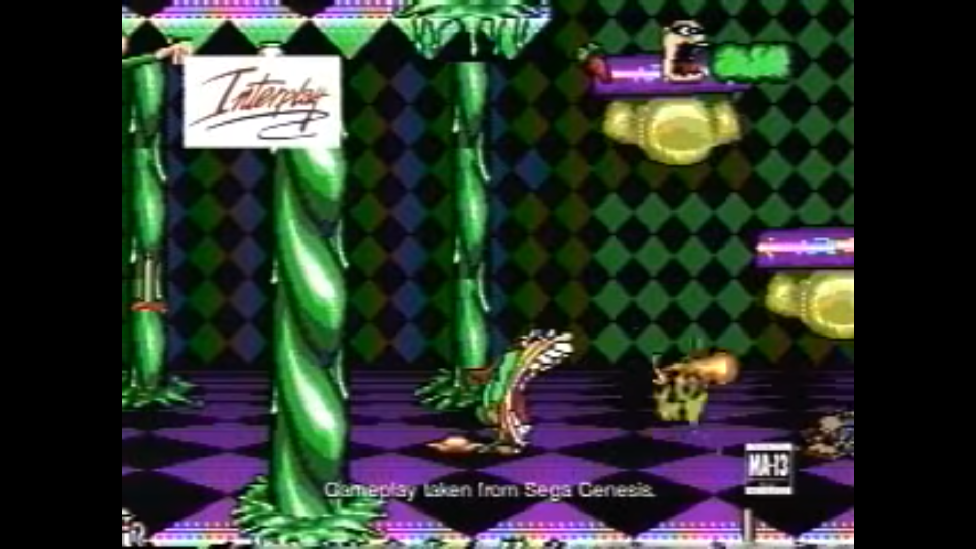 Boogerman: A Pick and Flick Adventure (1994) (Video Game) (Commercial)