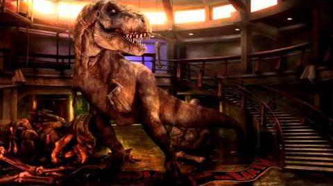 Jurassic Park, T-Rex - Attack Roar
